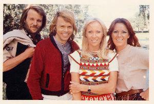 ABBAの4人