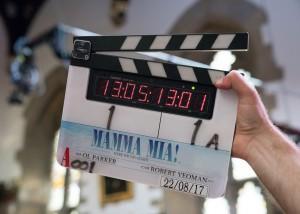 Universal Pictures Mamma Mia Clapboard